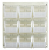 Bins & Systems - Ultra Stack and Hang Bins (QUS Series) - Louvered Panels - Complete Packages - QLP-1819BG-230-9CL