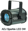 American DJ Sparkle LED 3W Free Shipping on this item! - *More Info*