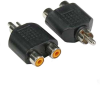 RCA Plug to 2 x RCA Jack Adapter -- 2013-SF-32