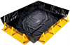 PIG Collapse-A-Tainer Spill Containment Berm 8' x 10' x 1', 6' W x 8' L x 1' H Sump Dimensions, 359 gal. Sump Capacity Portable & Collapsible Spill C -- PAK792