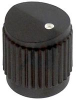 ROUND KNOB WITH DOT, 3.175MM -- 34C2778