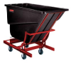 RUBBERMAID Self-Dumping Polyethylene Hoppers -- 4636401 - Image