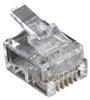 RJ-11 Modular Connector, 4-Wire, 100-Pack -- FMTP411-100PAK