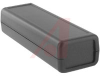 Enclosure, Hand Held; ABS Plastic; Black; Self-Tapping Screw; 4.5 in.; 1 in. -- 70165778