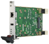 3U CompactPCI® Serial Peripheral Board with PCIe® Mini Card or Storage Function -- MIC-3954 -Image
