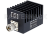 50 Watt RF Load Up to 4 GHz With N Male Input Square Body Black Anodized Aluminum Heatsink -- PE6188 -- View Larger Image