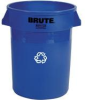 Rubbermaid Brute® 44-Gallon Recycling Container - 2643-73 (Blue) -- RM-2643-73BLU