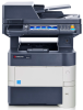 Black & White Multifunctional Printer - Print / Color Scan / Copy / Fax -- ECOSYS M3560idn