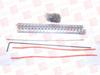 FLEXCO 375XJ36NC ( FLEXCO, 375XJ36NC, HINGED BELT FASTENER, 32-7/8IN LENGTH, 66TEETH ) -Image