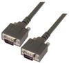 Heavy Duty D-sub Cable, DB9 Male / Male, 5.0 ft -- DSA00023-5F -Image