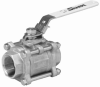 3-Piece Full Port Ball Valve -- Model  1/4