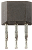 SS490 Series standard miniature ratiometric linear Hall-effect sensor IC, flat TO-92-style, surface mount -- SS496A-S