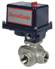 Electrically Actuated 3-Way Stainless Steel Ball Valve -- EYSA Series