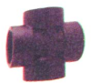 Plastic Pipe Fitting Cross -- JBX-24