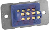 connector,rack and panel,plug w/ribbon cont,barrier polar,solder eyelets,8 cont -- 70144700