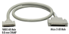 VHDCI 68 Male to Micro D 68 Male Cable , 6-ft. (1.8-m) -- EVMS8-0006-MM