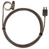 Digi-Sense Type-J Hose Clamp Probe 1.25 - 2.25 OD Mini Conn GRD 10Ft SS Braid Cable -- GO-08469-40