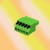 Terminal Blocks, Pluggable plug, Contact type=screw contact -- 20020013-D061B01LF
