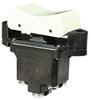 TP Series Rocker Switch, 2 pole, 3 position, Screw terminal, Flush Panel Mounting -- 2TP500-7-W -Image