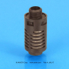 Compact Plastic Exhaust Muffler -- JMU17 - Image