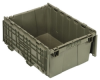 Heavy Duty Attached Top Tote Containers -- 53010