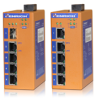 Unmanaged Industrial PoE Switches -- HES5A-4E Series -Image