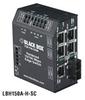 Hardened Heavy-Duty Edge Switch, (5) 10/100 Copper + (1) Fiber Ports, Multimode, 24-VDC, SC -- LBH150A-H-SC-24