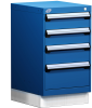 Stationary Compact Cabinet with Partitions -- L3ABD-2835L3D -Image