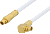 MMCX Plug to MMCX Plug Right Angle Cable 72 Inch Length Using RG196 Coax -- PE34893-72 -Image