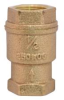 HAMMOND SPRING LOADED IN LINE CHECK VALVE BRASS 1/2 IN FIP -- IBI450445