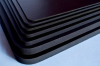 3M™ Microcellular Polyurethane Foam 12032-6035PC, 3/32 in thick Black, Laminated to 3M™ 6035PC adhesive on one side, Miscellaneous Custom Size -- 70000235625