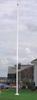 Flag Pole,20 ft.,Fiberglass,White -- 5JFD3