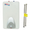 Tankless Water Heater -- WaiWela Mini Tank 4.0 Gallon with Stainless Steel Flexible Connectors - Image