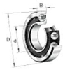 7400 Series Heavy Duty Standard Angular Contact Ball Bearings -- 7420