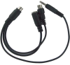 VGA to TV MiniDIN 8 to Din4 S-Video RCA Splitter Cable -- TV01-04 - Image