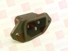 CONNECTOR, POWER ENTRY, PIN, 15A GENDER:PLUG VOLTAGE RATING:250VAC CURRENT RATING:15A CONNECTOR MOUNTING:PANEL CONTACT TERMINATION:SOLDER CONNEC -- EAC309