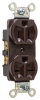 Combination Duplex Receptacle -- 5290 -- View Larger Image