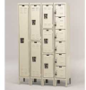 HALLOWELL Ready-Built Lockers -- 7828421