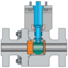 High-pressure Forged Metal-seated Ball Valves -- Type R -- View Larger Image