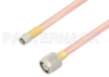 SMA Male to TNC Male Cable 24 Inch Length Using RG401 Coax -- PE34418-24 -Image