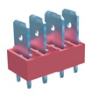4 Tabs Low Profile Quick Fit Header -- 7819 - Image