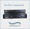 Dual 4-Channel RJ45 Cat5e A/B Keylock Switch -- Model 9478