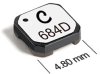 LPD5010 Series Shielded Coupled Power Inductors -- LPD5010-154 -Image