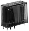 NTE ELECTRONICS - R25-11D10-5/6 - POWER RELAY DPDT 5V/6V DC, 10A, PC BOARD -- 877766