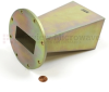 WR-284 Standard Waveguide Horn With UG-584/U Round Cover Flange and 10 dB Nominal Gain Operating From 2.6 GHz to 3.95 GHz Frequency Range -- SH1284-10 -Image