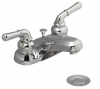 Metal Lever Handles Kitchen Faucet -- LFE300M - Image