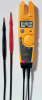 Fluke 600V Voltage, Continuity and Current Tester -- T5-600