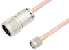 N Male to TNC Male Cable 150 cm Length Using RG401 Coax -- PE3W05651-150CM -Image