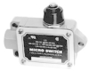 MICRO SWITCH BAF/DTF Series High Capacity Enclosed Switches, Top Plunger - Long, 1NC/1NO SPDT Snap Action, Actuator Position - Left -- BAF1-2RQ3-LH -Image