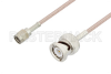 Reverse Polarity SMA Male to BNC Male Cable 48 Inch Length Using RG316 Coax -- PE3C3413-48 -Image